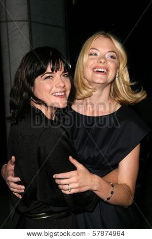 Selma Blair and Jaime King at the Los Angeles Special Screening of 'Fanboys'. Clarity Screening Room, Beverly Hills, CA. 02-03-09