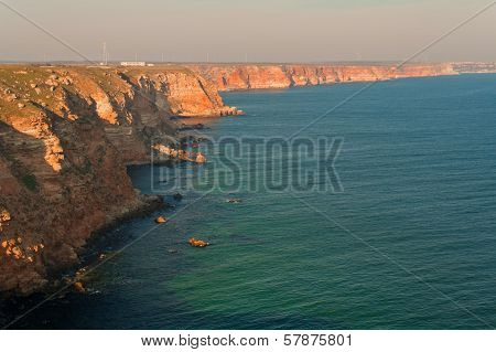 Summer Beach On Bulgarian Black Sea
