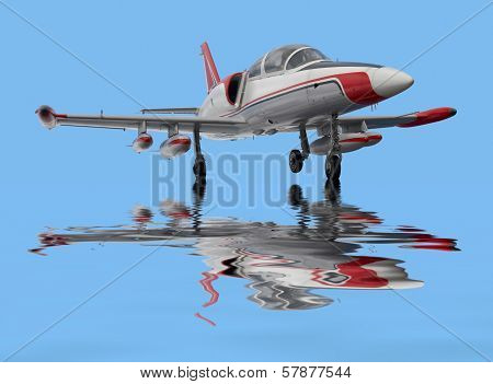 Aircraft On Water Surface