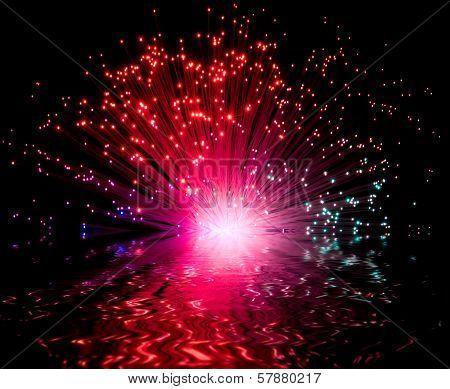 Illuminated Plastic Optical Fiber