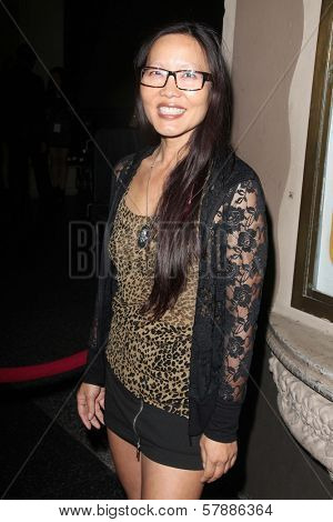Joyce Chow at the Opening Night Of