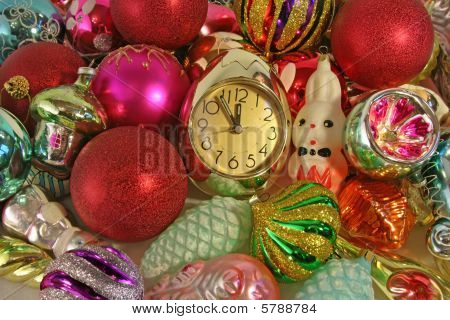 Clock And Ornaments
