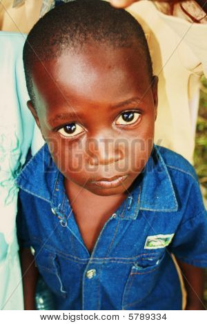 Young Boy Child from Uganda