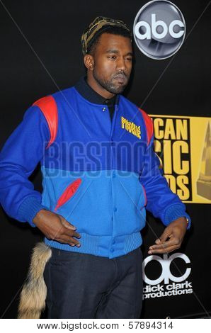 Kanye West  at the 2008 American Musica Awards. Nokia Theatre, Los Angeles, CA. 11-23-08