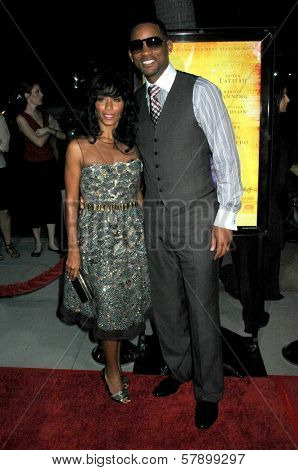 Jada Pinkett Smith and Will Smith  at the Los Angeles Premiere of 'The Secret Life of Bees'. Academy of Motion Arts and Science's, Beverly Hills, CA. 10-06-08