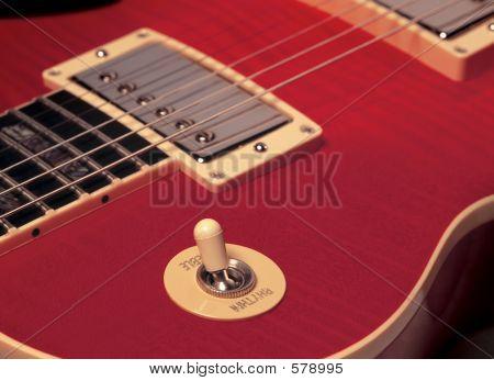 Rhythm/treble Red Electric