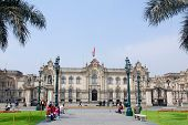 Government palace at Plaza de Armas