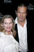 Susan Bridges and Jeff Bridges at the 24th Santa Barbara Film Festival Opening Night Screening of 'N