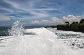 stock photo of tanah  - Tanah Lot temple Complex in Bali island Indonesia - JPG