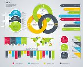 foto of arrowhead  - Modern infographics set - JPG