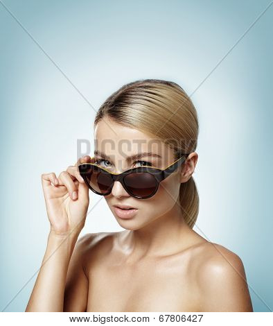Woman In A Sunglasses