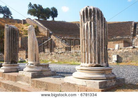Asklepion In Pergamon, Turkey