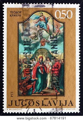 Postage Stamp Yugoslavia 1970 Ascension, By Teodor D. Kracum