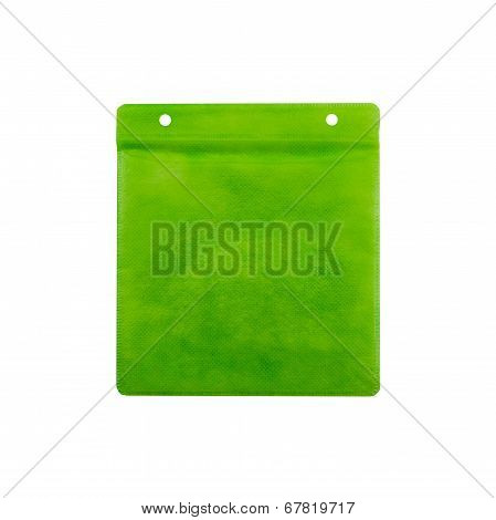 Green Cd Paper Case.
