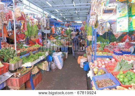 Local Market Kuala Lumpur Malaysia