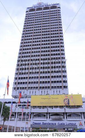 City Hall building Kuala Lumpur Malaysia