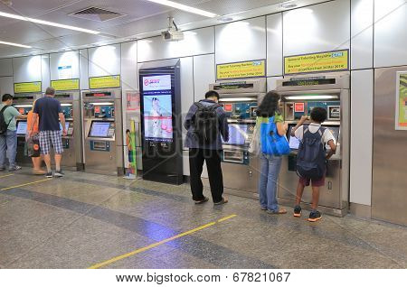 Orchard Road MRT station Singapore