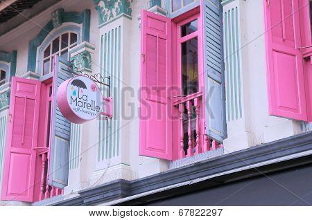 Cute house Arab Street Singapore