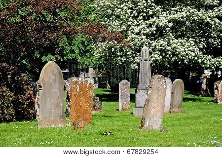 Gravestones, Stratford-upon-Avon.