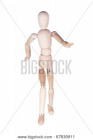 Wooden hinged dummy