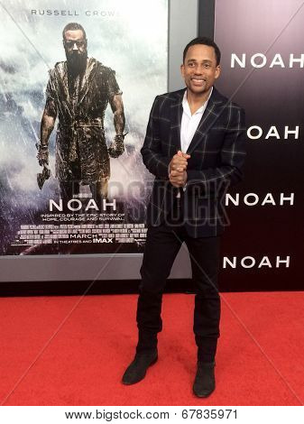 NEW YORK-MAR 26: Actor Hill Harper attends the premiere of