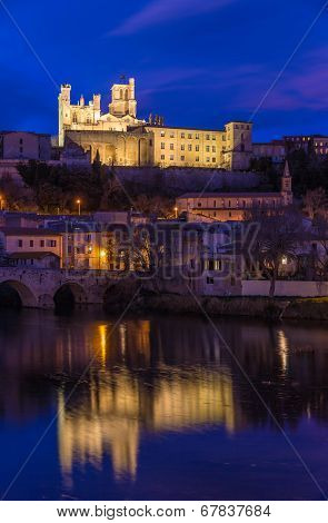 St. Nazaire Cathedral In Beziers, France