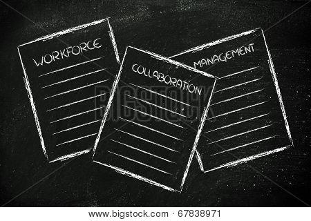 Business Documents: Workforce, Collaboration, Management