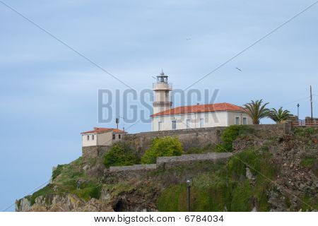 Lighthouse Of Cudillero, Asturias, Spain