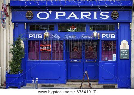 Beer pub O 'Paris