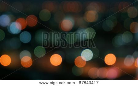 Bokeh Of Variety Of Colors