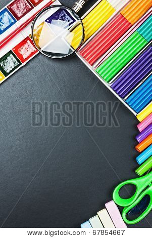 School Supplies To The Schoolboard