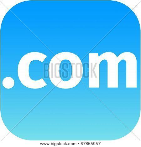 .com Blue Icon