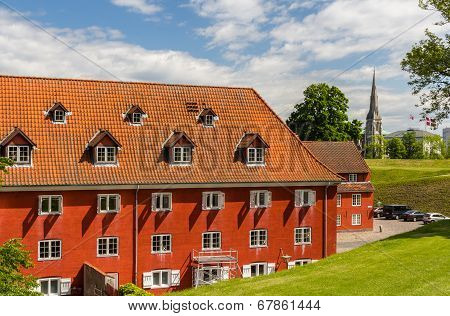 Inside Kastellet, A Fortress In Copenhagen