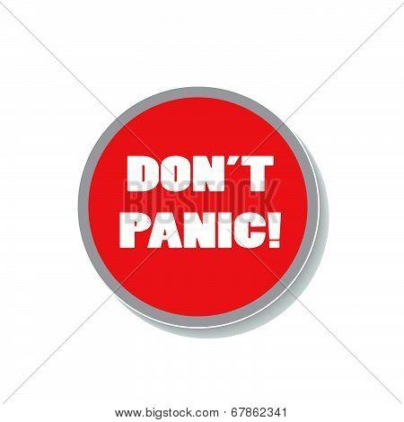 Don't Panic Icon