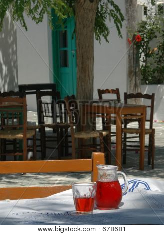 Greek Taverna Setting
