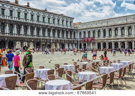 San Marco Piazza In Venice