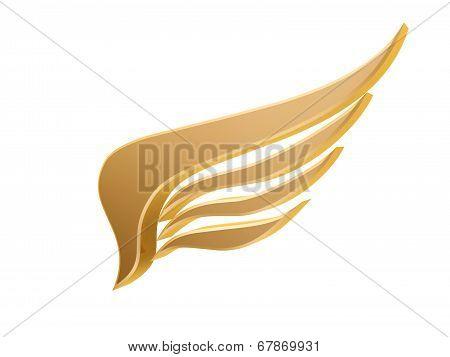 Golden Wing Symbol
