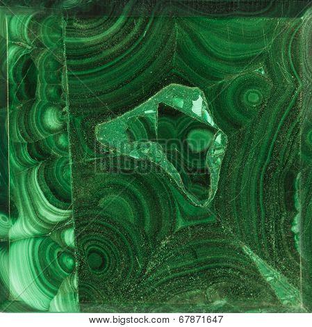 Texture Of Gem Malachite
