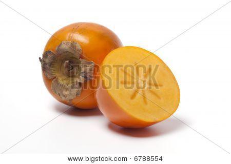 Fruta de Sharon y medio
