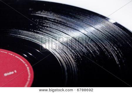 Long playing Vinyl music record