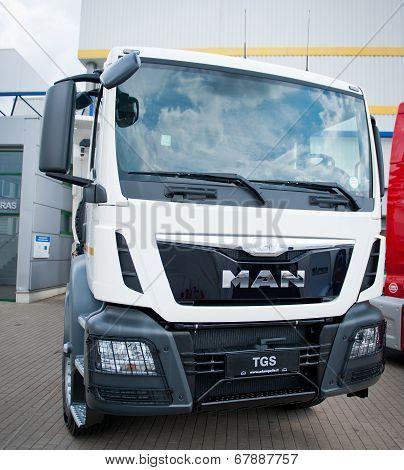 MAN TGS truck