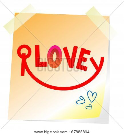 Post In Of Love