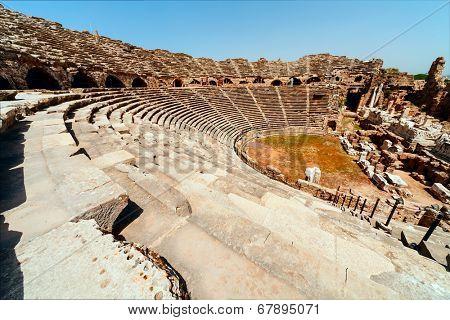 Ancient Side Amphitheatre