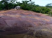image of chamarel  - Chamarel Seven Coloured Earths On Mauritius Island - JPG