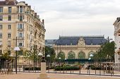 foto of gare  - Gare des Brotteaux old railway station in Lyon - JPG