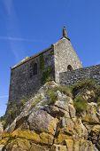 image of mont saint michel  - Saint Aubert Chapel - JPG