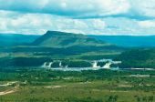 picture of canaima  - Canaima lagoon with waterfalls and jungles Venezuela - JPG
