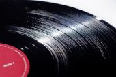Long playing Vinyl music record
