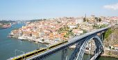 image of dom  - Dom Luiz bridge in Porto Cityscape Portugal - JPG