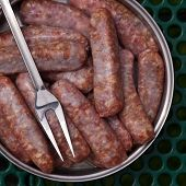 image of charcuterie  - Sausage from pork and beef - JPG